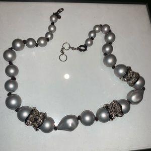 Alexis Bittar statement necklace